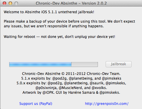 absinthe 2.0.2 not working