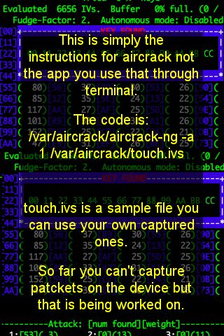 aircrack iphone 4