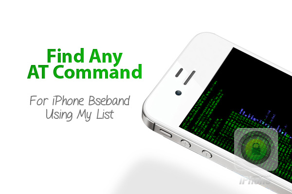AT Commands For iPhone Baseband