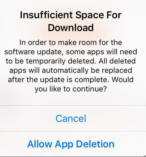 app deletion
