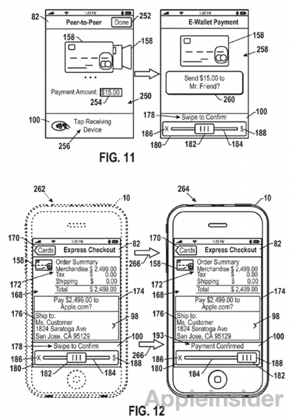 Apple NFC Wallet Patent