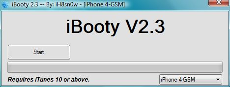 boot ios 5.1 using ibooty 2.3