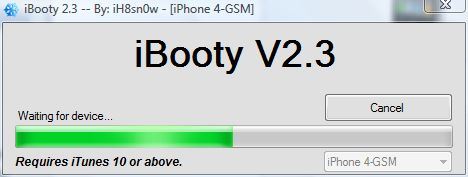 boot ios 5.1 using ibooty v2.3
