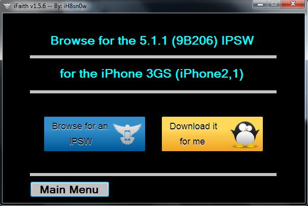 browse ipsw