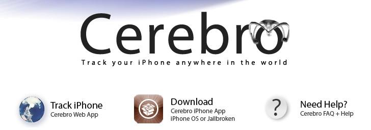 Cerebro iphone tracking