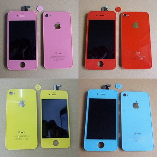 Multiple Color iPhones