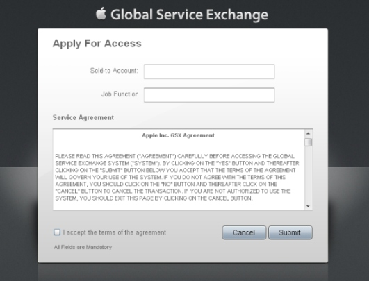 create gsx account