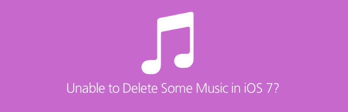 Delete Songs iOS 7 iPhone and iCloud iTunes