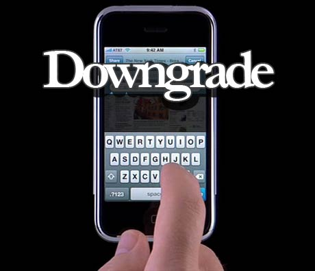 downgrade iPhone baseband