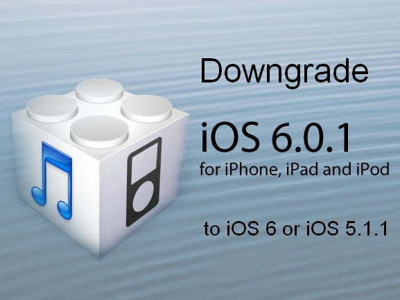 downgrade ios 6.0.1