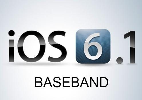 ios 6.1 BASEBAND