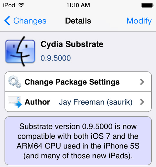 download mobilesubstrate ios 7