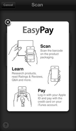 EasyPay with iTunes