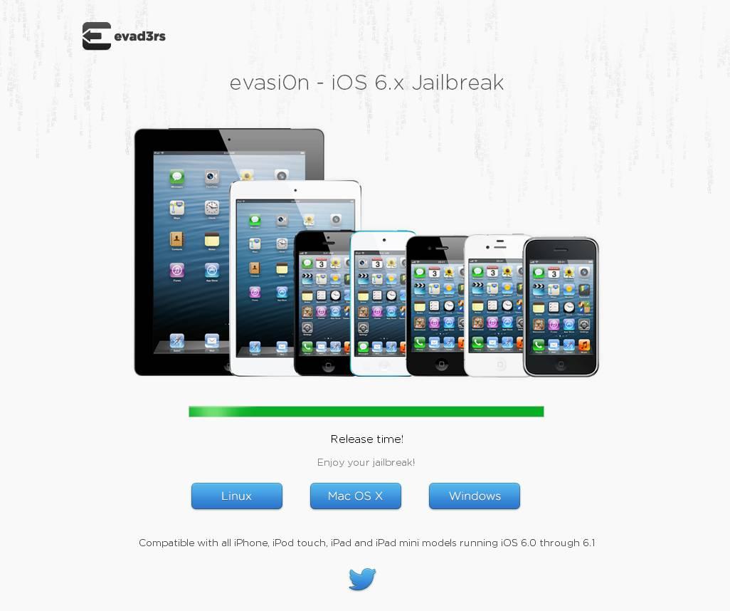 jailbreak ios 6.1 using evasi0n