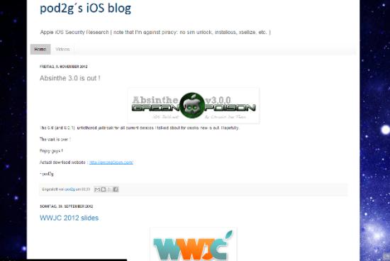 Absinthe 3.0 Fake iOS 6 Untethered Jailbreak