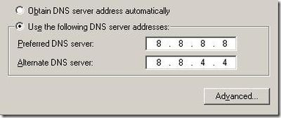 change dns server ios 7