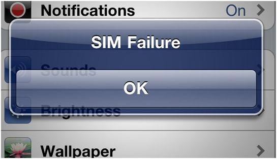gevey sim failure
