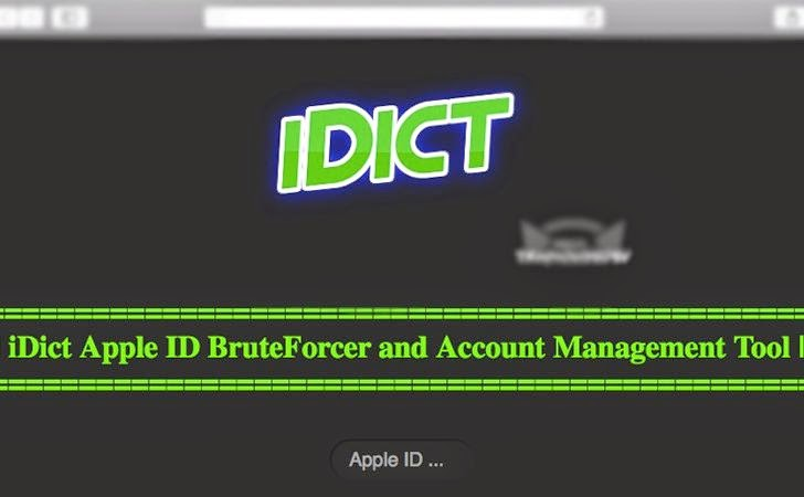 hack iCloud password with iDic