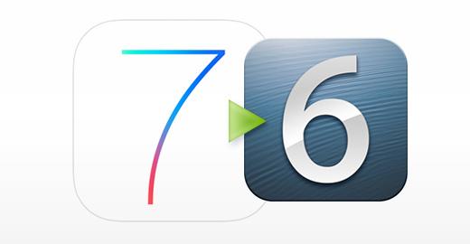 How to Downgrade iOS 7 beta 2 to iOS 6