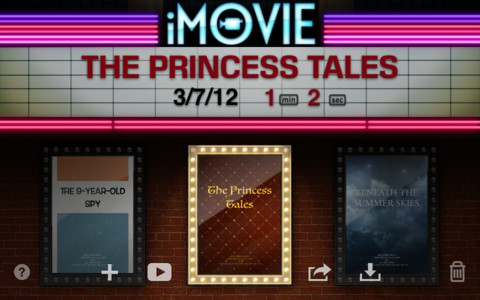 how to use imovie on iphone 4