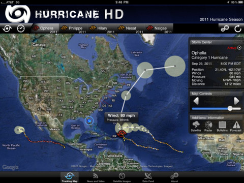 hurricane sandy app HD