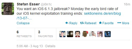 iOS 6.1.3 jailbreak i0n1c