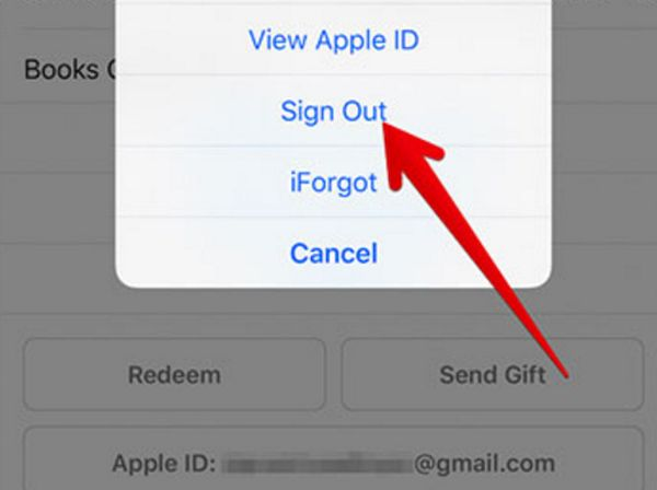 iBooks Sign Out How to iPhone Guide