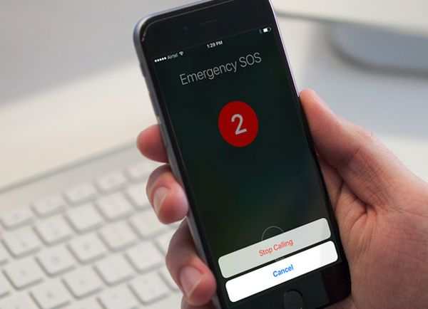 Emergency SOS iPhone Stop Call iOS 10.2
