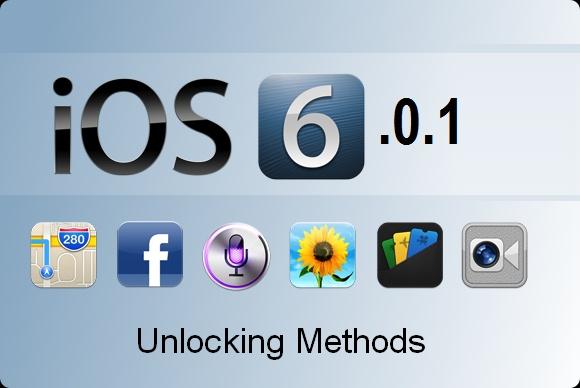 iOS 6-0-1 unlock