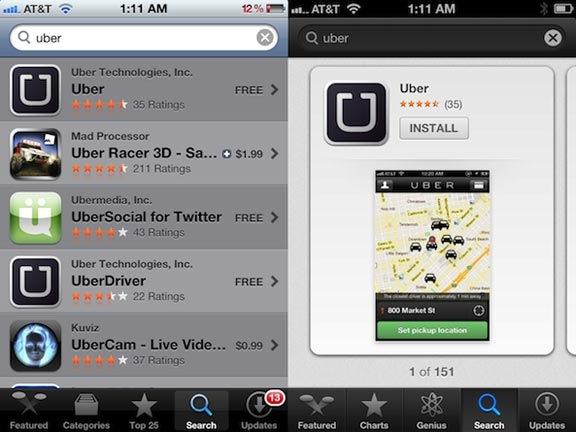 iOS 6 app store update