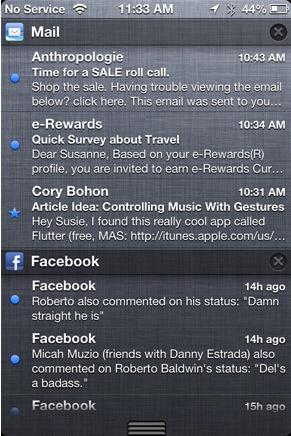 iOS 6 notifications