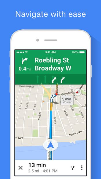 iOS 9 Google Maps How to Add Detours iPhone