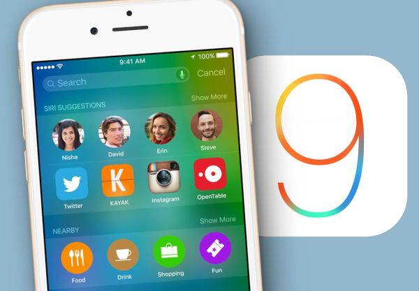 iOS 9 Top Features Changes