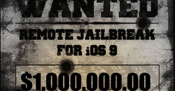iOS 9.1 Broswer Based Jailbreak Wins Million Dollar Bounty Award