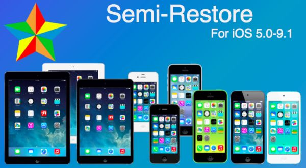 iOS 9.1 Semi Restore iPhone iPad Release
