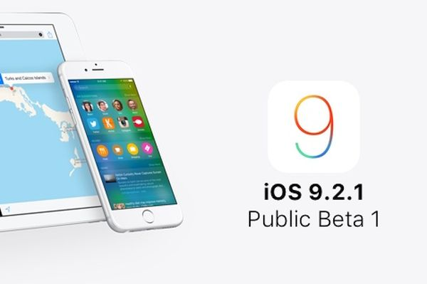 iOS 9.2.1 Public Beta Download Release