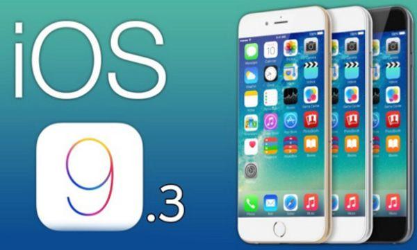 iOS 9.3 Beta 3 Public Beta Download