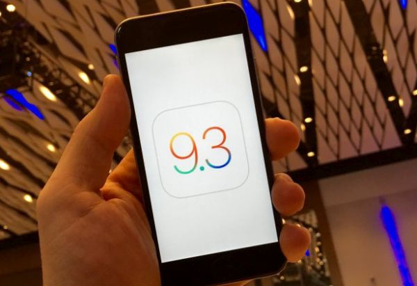 iOS 9.3 beta 1.1 and iOS 9.3 public beta download release