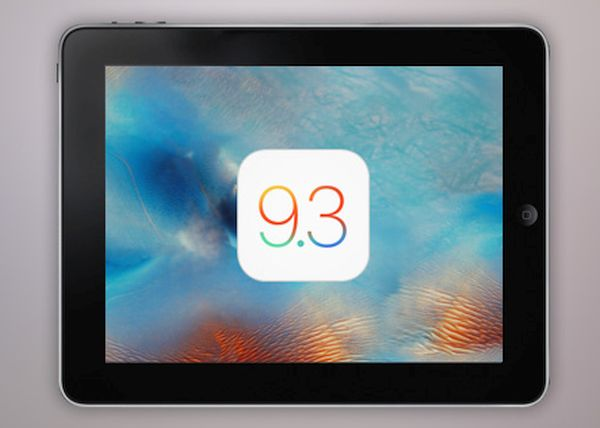 iOS 9.3 iPad 2 Fix Update