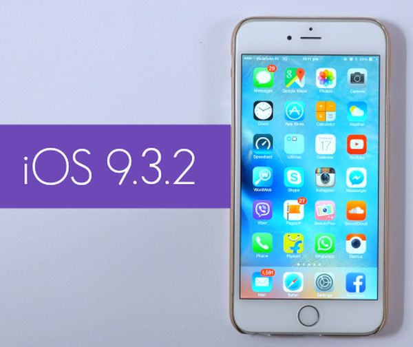 iOS 9.3.2 Beta 1 Release Download