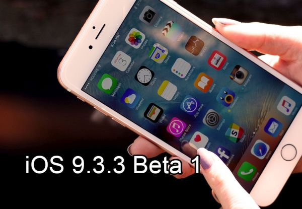iOS 9.3.3 Beta 1 Download Direct Links ipsw iPhone iPad Release