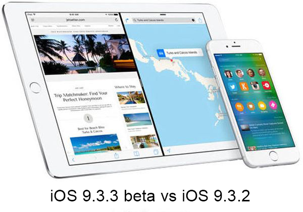 iOS 9.3.3 vs 9.3.2 Speed Test Compare