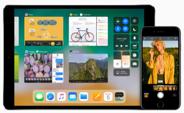 iOS 11 Drag and Drop Feature