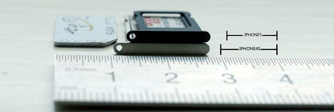 iPhone 5 nano-Sim technology