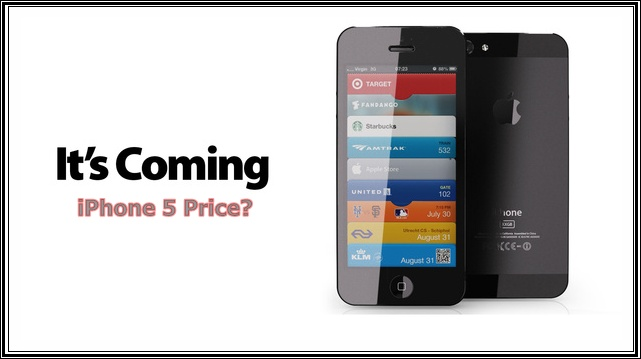 iPhone 5 release price