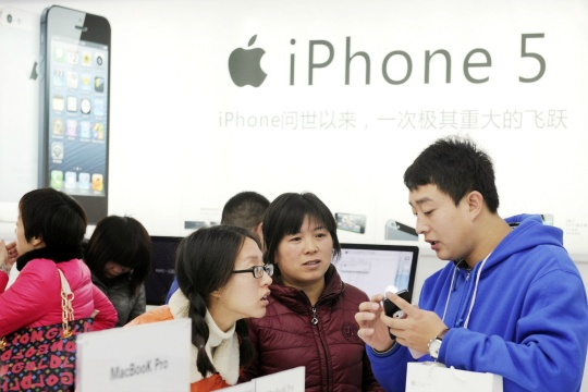 iPhone 5 sales in China
