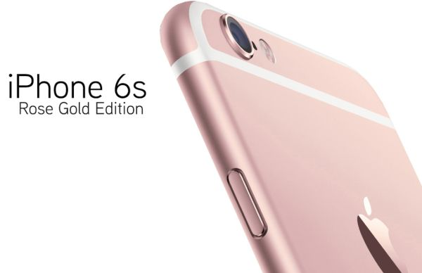 iPhone 6s Arrival Day Rose Gold Color