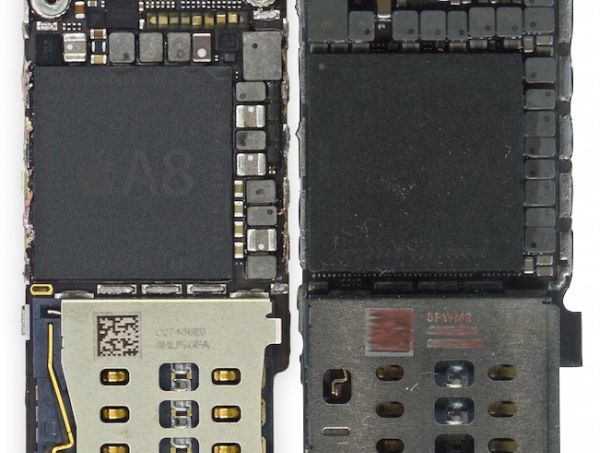iPhone 6s Leaked Component Chip