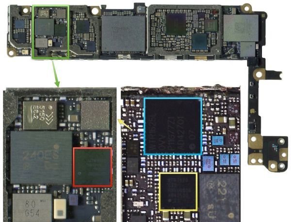 iPhone 6s Leaked Component