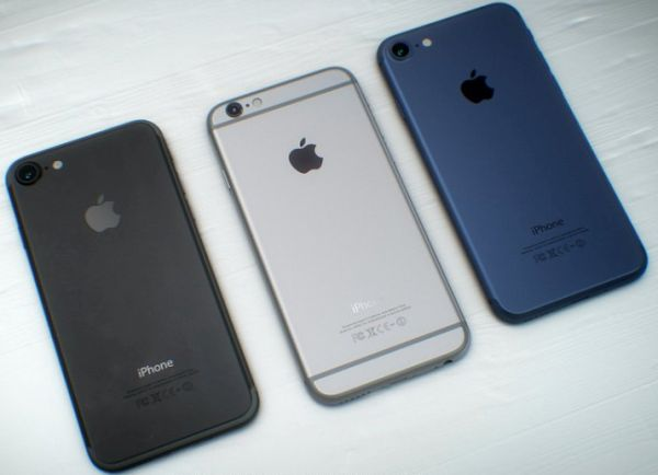 iPhone 7 Color Options 2016